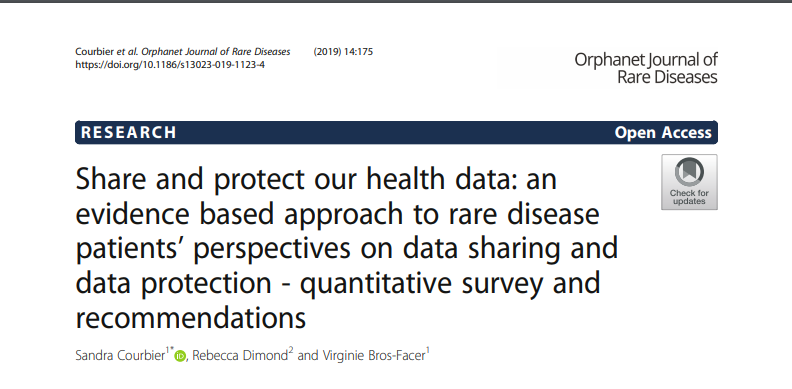 Share and protect our health data